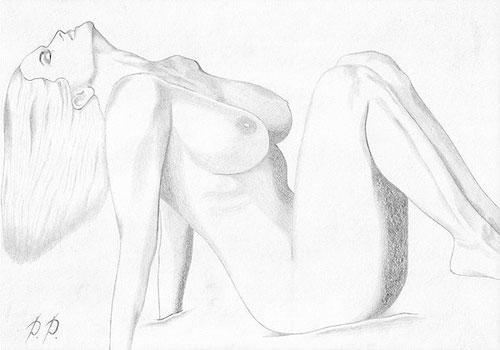 секс простые рисунки карандашом