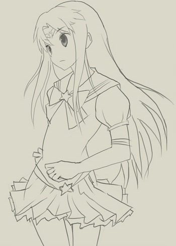 Как нарисовать аниме?