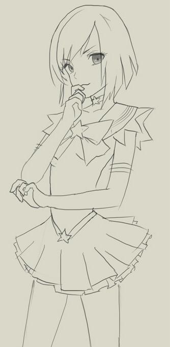 как надо рисовать аниме: