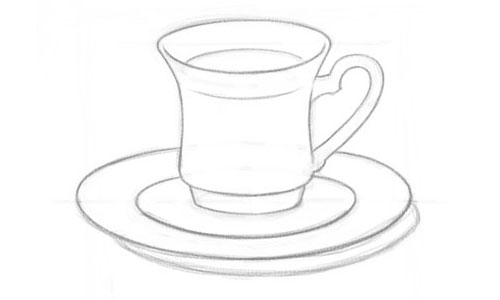 Как нарисовать чашку?