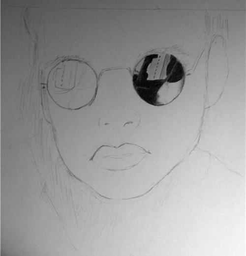 Как нарисовать женщину карандашом