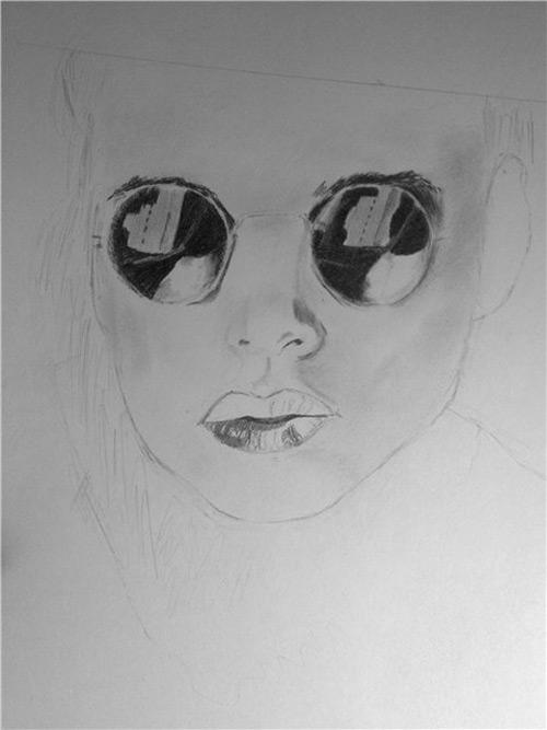 Как нарисовать лицо женщины поэтапно