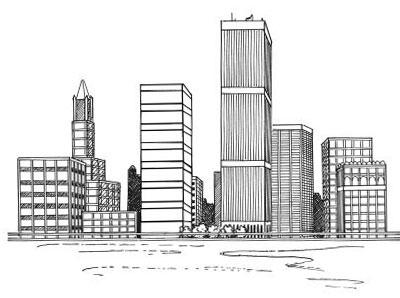 Как нарисовать город?