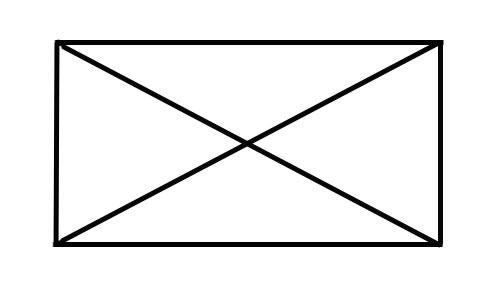 Как нарисовать конверт не отрывая руки от бумаги