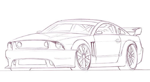 Удачи в рисовании автомобилей
