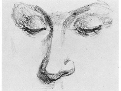 как рисовать лицо человека карандашом: