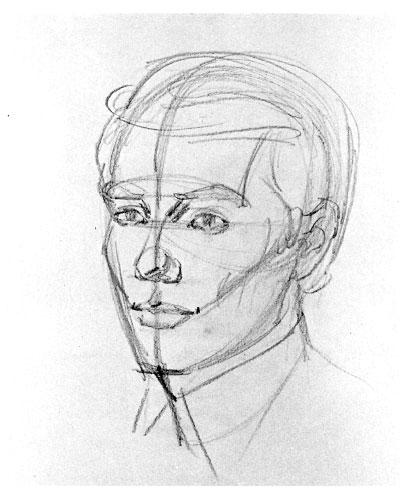 Как нарисовать портрет карандашом?