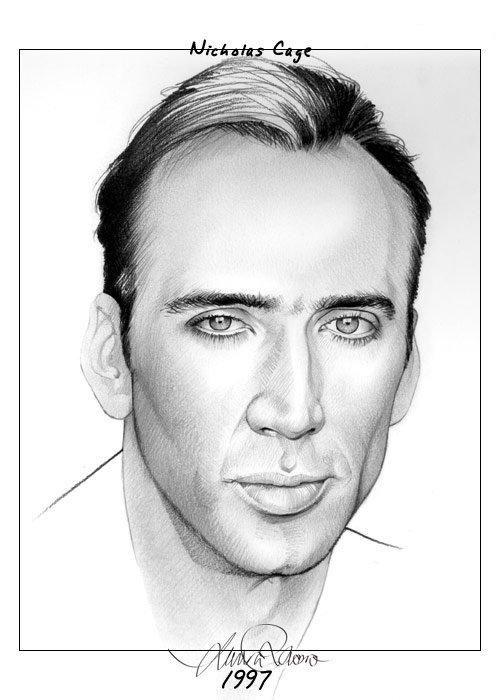 рисунки карандашом портреты: