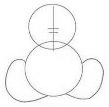 Как нарисовать Тедди