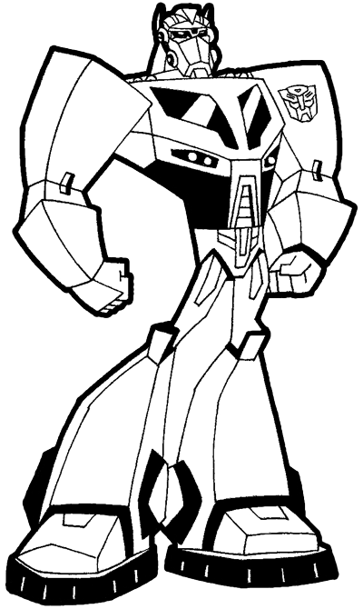 free coloring pages of optimus prime mask
