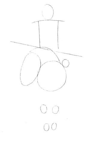 Как нарисовать трех
